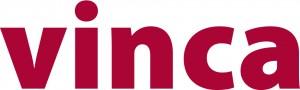 vinca logo punainen
